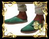 *Boho Green Shoes