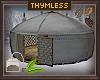 Fur Lined Winter Yurt