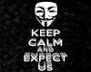 V Keep Calm, Expect Us