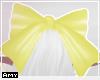 f yellow bow