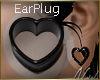 (FG) BlackHeart EarPlug