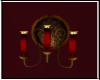 Crimson Romance Sconce