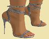 Matching Silver Heels