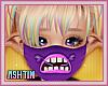 ! KID Purple Monsta Mask