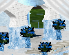 Ice Blue Wedding Room