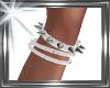 ! metalic leg collar
