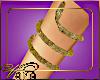 (VN) Gold Snake Armband