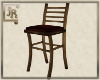 *JR Barstool Wood Red