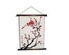 Sakura Lounge Scroll Art