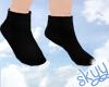 ❤ Kids Black Socks