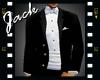 Wedding Tux Black White