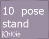 K 10 stand nods
