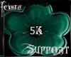 *F* Support 5k Sticker