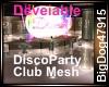 [BD] DiscoPartyClubMesh