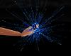 Blue Rave hand sparklers
