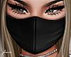f. black face mask