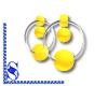 *S* Earrings_Yellow (S)