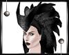 _Horn Hair Silver/Black