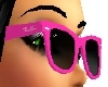 Lady's Pink Ray-Ban Glas