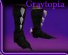 [KG] Black War Boots