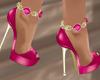 Heels Gems Pink