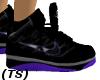 (TS) Blk Purp Grey Nikes