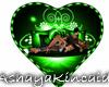 valentine's Heart Green