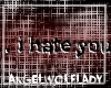 [A]..i hate you ~Sticker