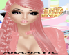 hair pink braid