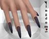 Sharp nails, mud