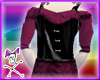 Magenta Corset Dress-Top