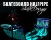 SD SkateBoard HalfPipe