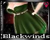 BW| Grn Bridesmaid Dress