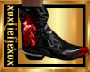 [L] WOLF Red Boots M