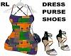 ColorBlock Dress FullFit