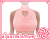 Pink Heart Turtleneck