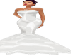 #1 Oval~Office Wht Gown
