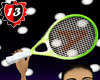 #13 Racket - GREEN