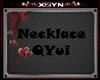 QYl Req Neclaces