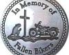 Fallen Bikers Medallion