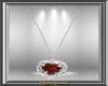 Garnet Diam Necklace