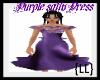 {LL}Purple Satin Dress