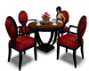 Table and Chairs_Red