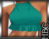 :HB: Green Halter Top