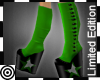 *m KH Glam Spats Green