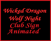 Animated Club Sign