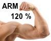 Arm Biceps Enlarger 120%