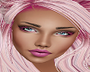 BLue Eyes Pink Lash Head