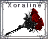 (XL)Blood Red Roses 2