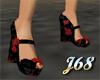 J68 Vixen Blk with Roses
